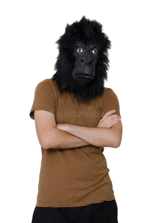 Homme de gorille photo stock