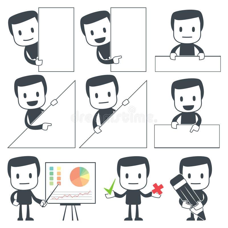 Homme de graphisme illustration de vecteur