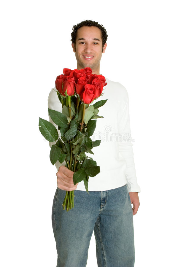 Homme de jour de Valentines photo stock