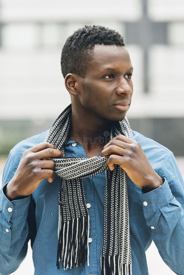 Homme de la rue africain beau photographie stock libre de droits