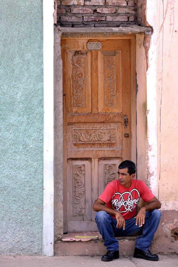 Homme de la rue cubain photographie stock libre de droits