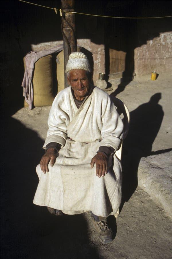 Homme de Ladakhi photographie stock libre de droits