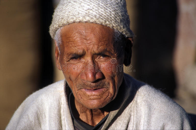 Homme de Ladakhi photo stock