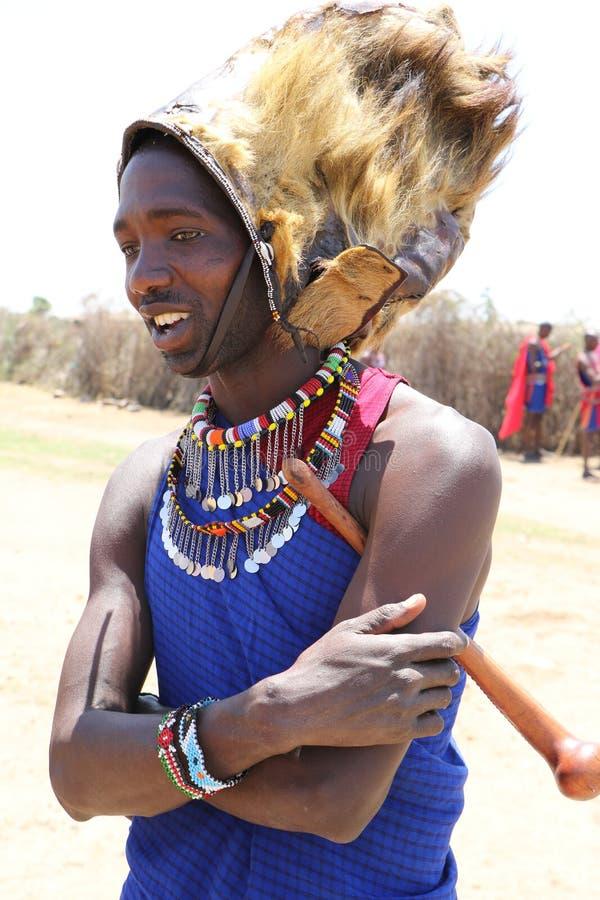 Homme de Massai image libre de droits
