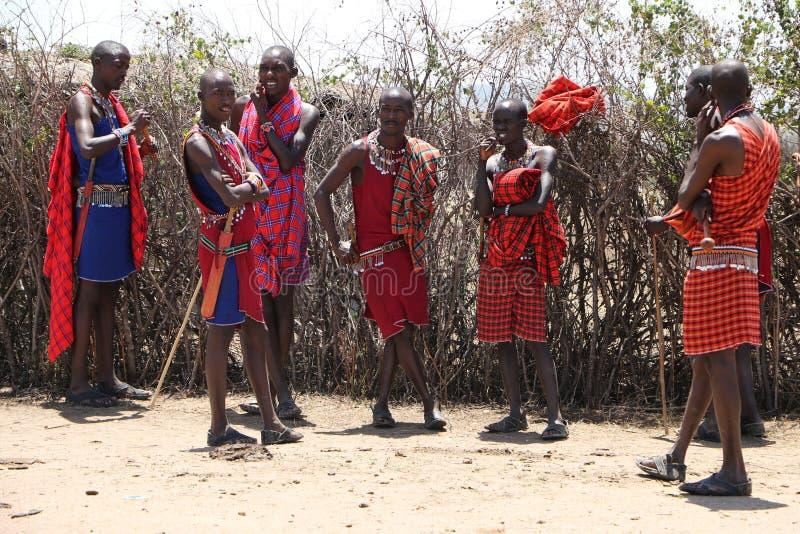 Homme de Massai photos libres de droits