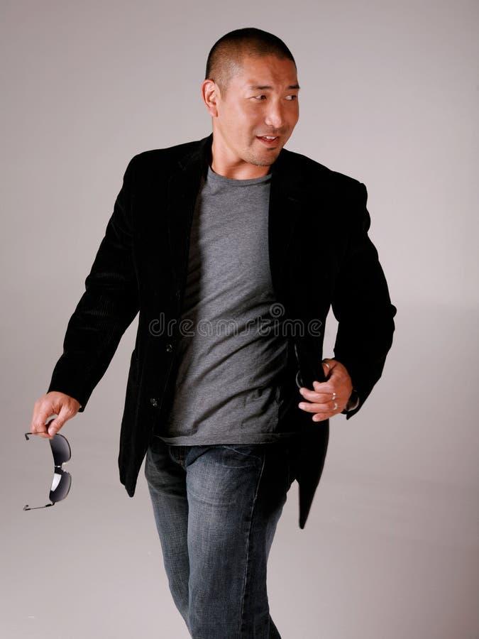Homme de mode photographie stock libre de droits