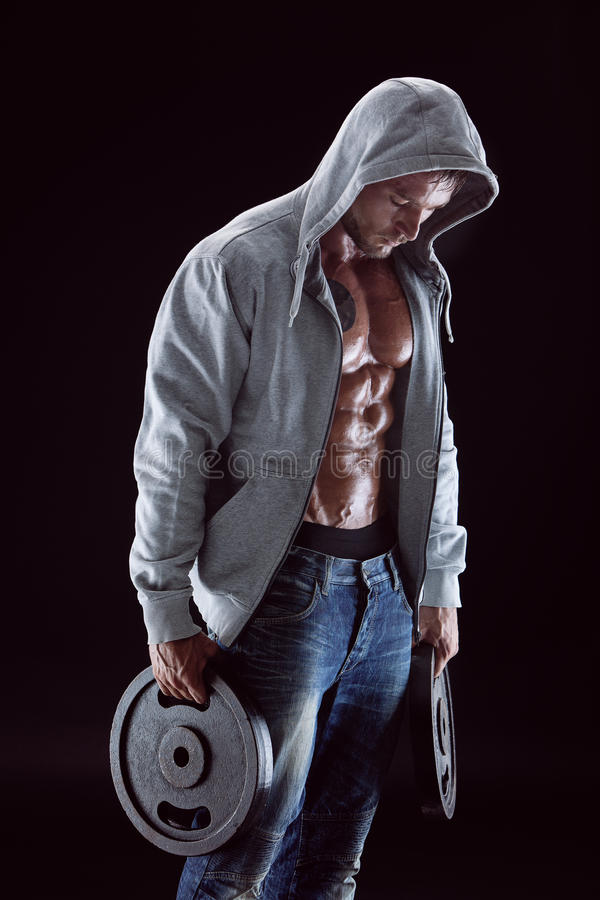 Homme de muscle photo libre de droits