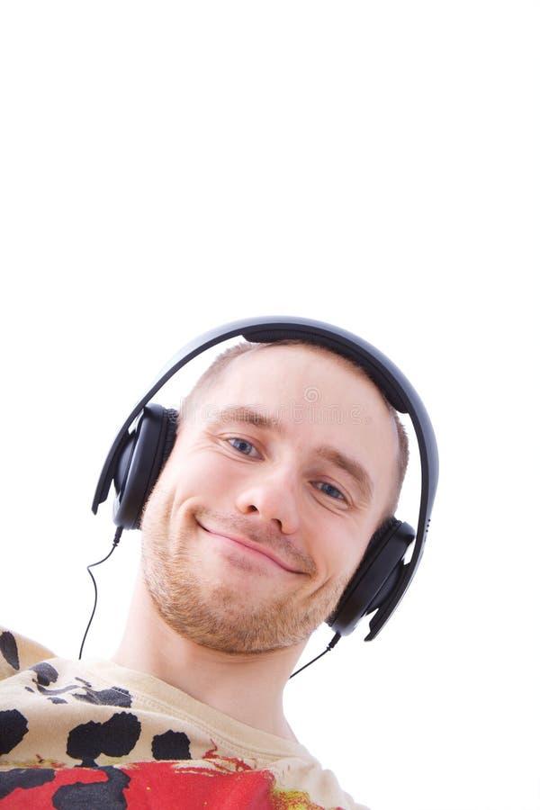 Homme de musique avec le chemin de découpage photos libres de droits