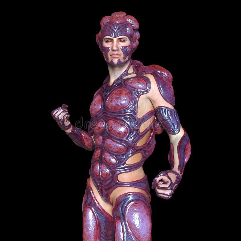 Homme de mutant illustration de vecteur