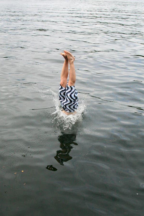 homme de plongée photographie stock