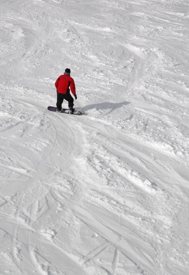 Homme de Snowboard images stock
