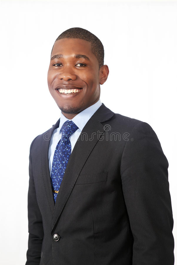 Homme de sourire photo stock