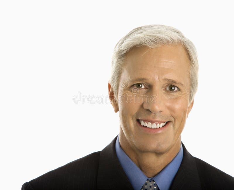 Homme de sourire. photographie stock