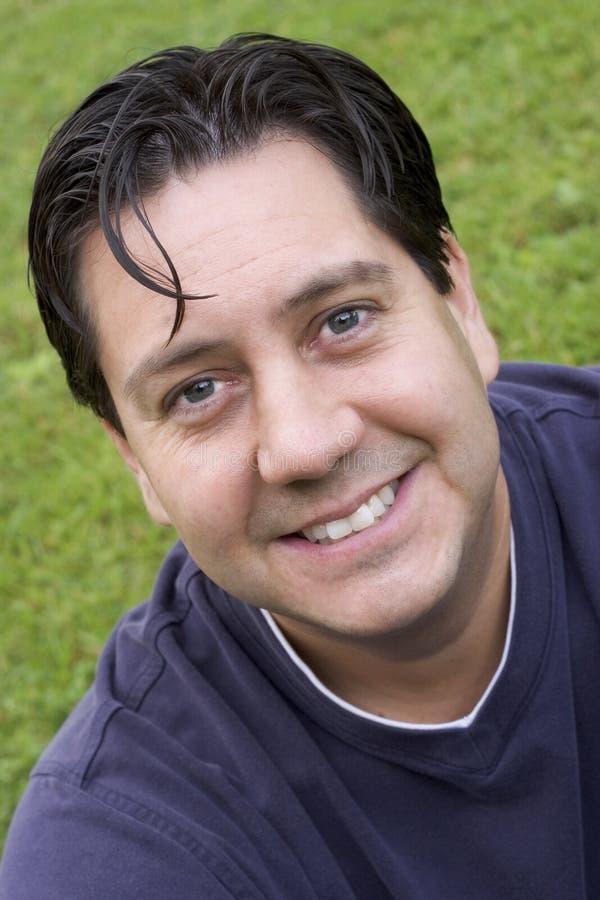 Homme de sourire photo libre de droits