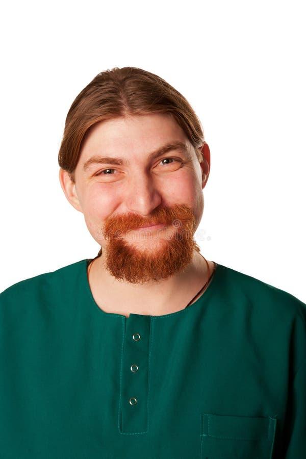 Homme de sourire de docteur. image stock