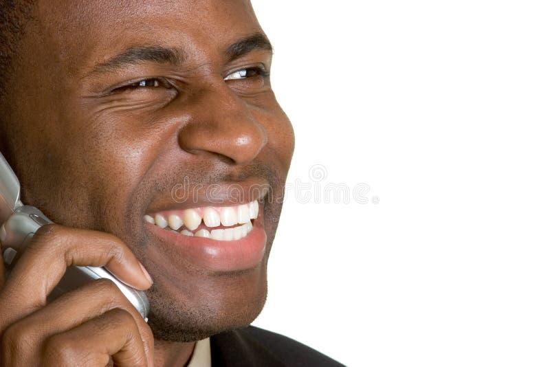 Homme de téléphone images stock