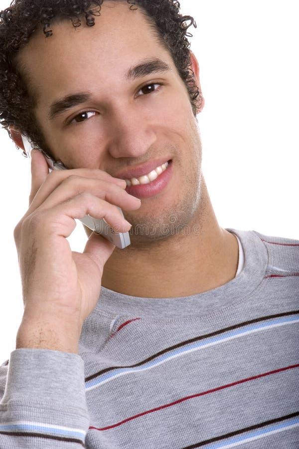 Homme de téléphone portable photos libres de droits
