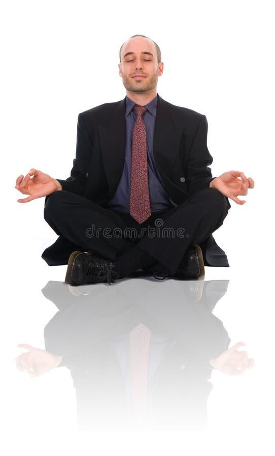 Homme de zen images stock