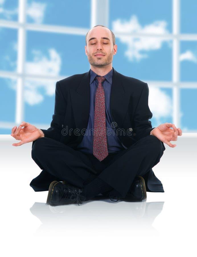 Homme de zen photo libre de droits