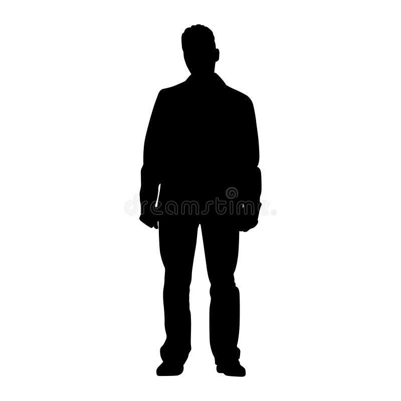 Homme debout photo stock