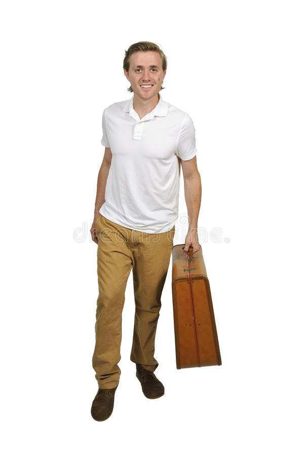 Homme des vacances photographie stock