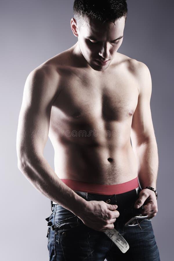 Homme en bonne santé photo libre de droits