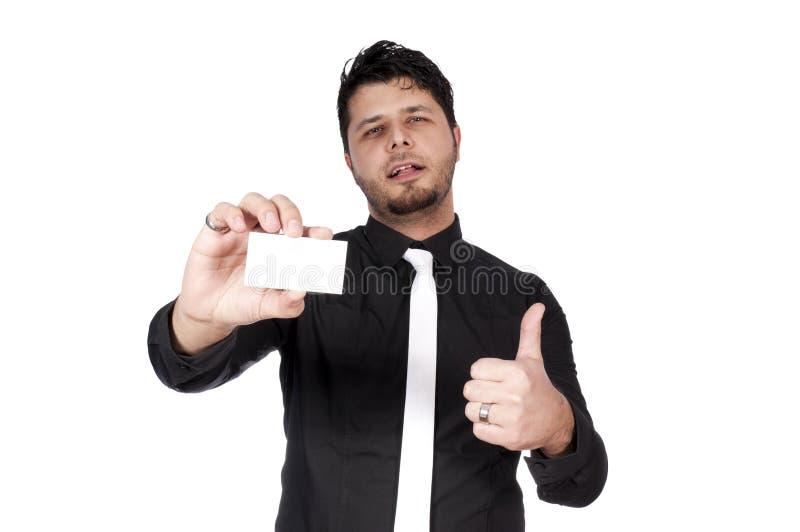 Homme et carte photo libre de droits