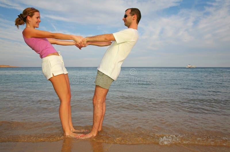 Homme et femme photos stock
