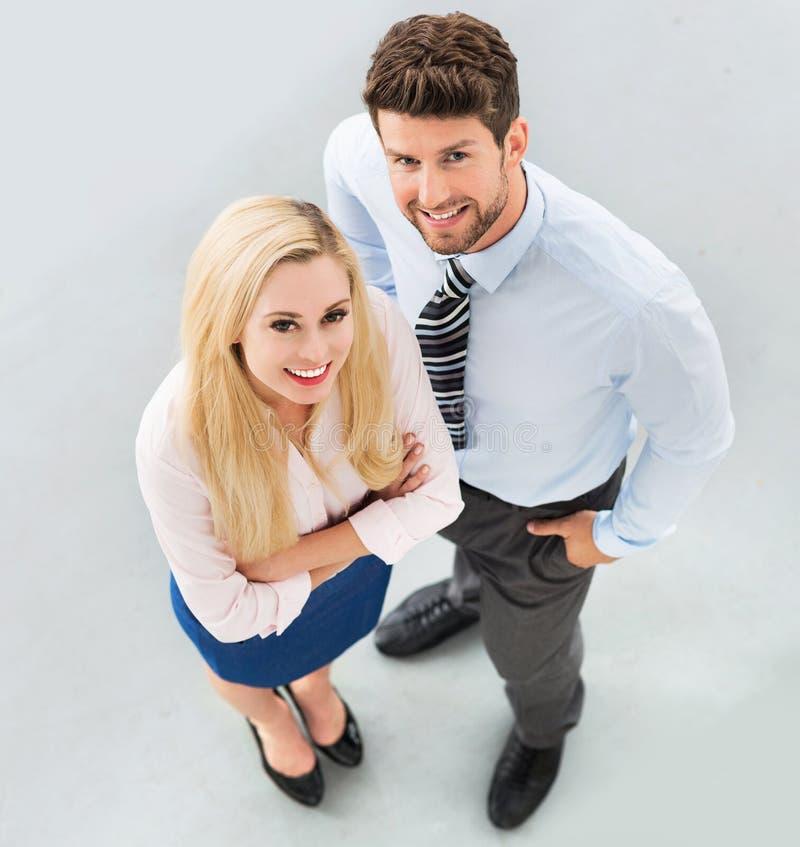 Homme et femme d'affaires photographie stock