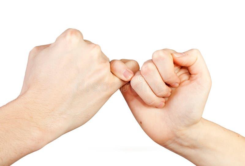 Geste de mains. images stock