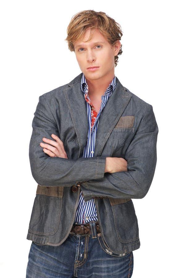 Homme européen attirant photo stock