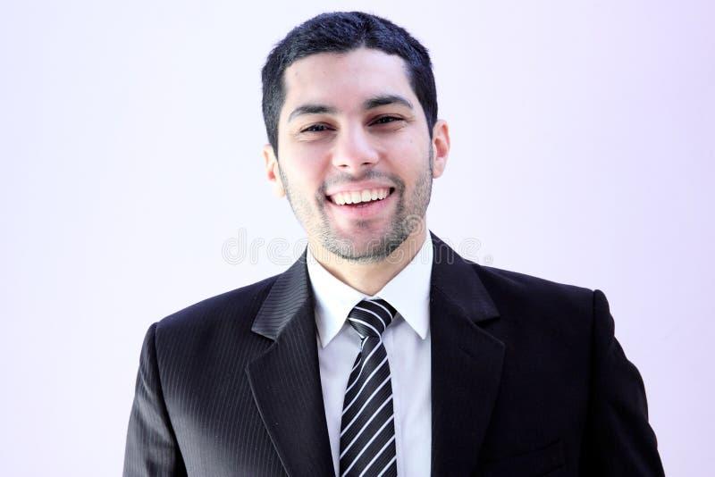 Homme heureux d'affaires photo libre de droits