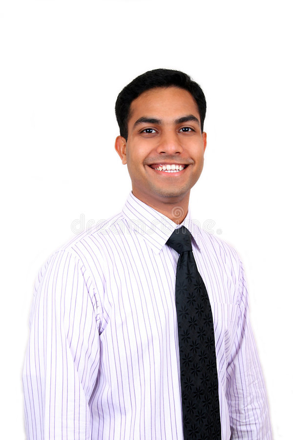 Homme indien d'affaires photo stock