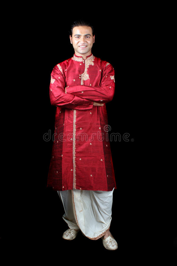 Homme indien traditionnel photo stock
