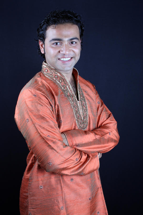 Homme indien traditionnel photos stock