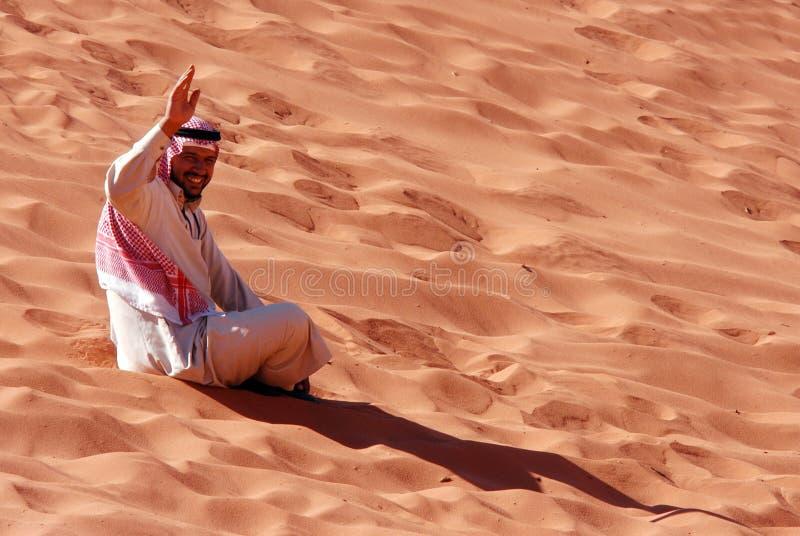 Homme jordanien photographie stock libre de droits