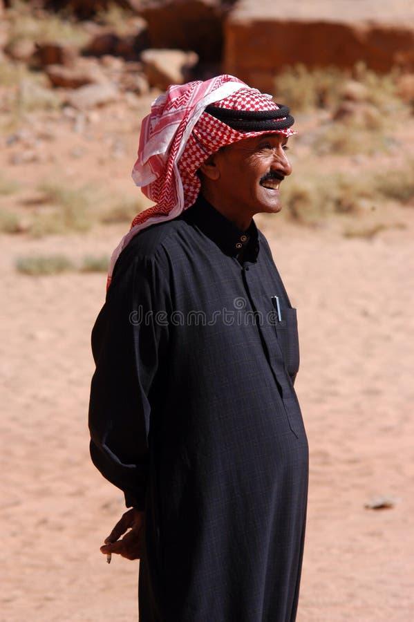 Homme jordanien photo stock