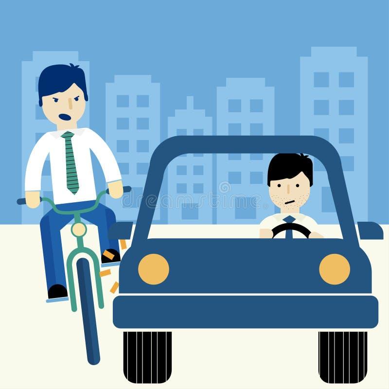 Homme montant un vélo photo stock