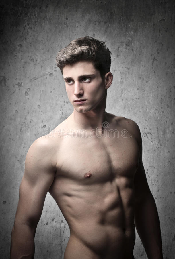 Homme musculaire image libre de droits