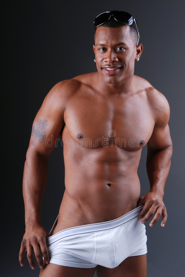 Homme musculaire sexy. photos libres de droits