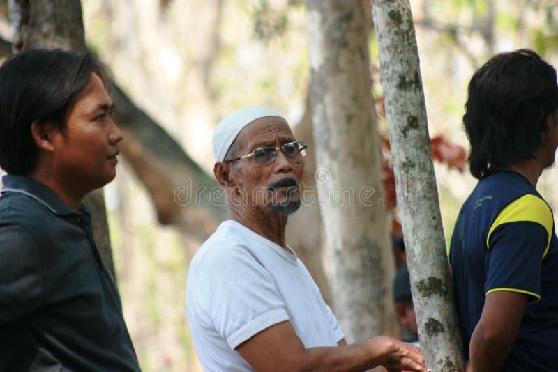 Homme musulman indonésien image libre de droits