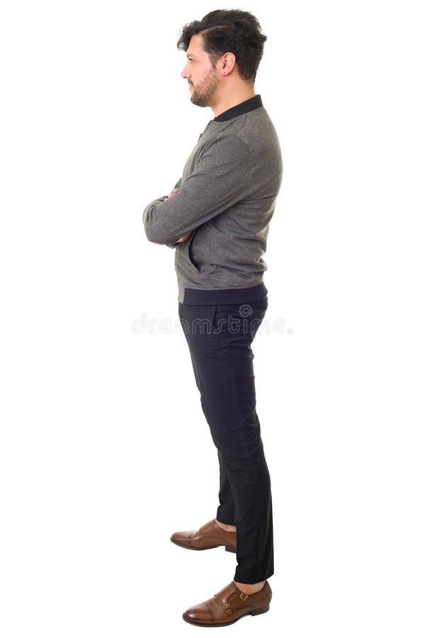 Homme occasionnel photo libre de droits