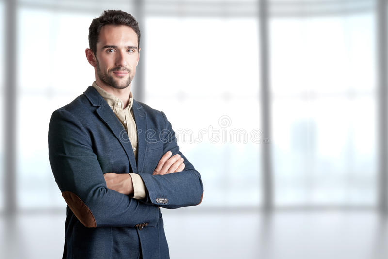 Homme occasionnel d'affaires images stock
