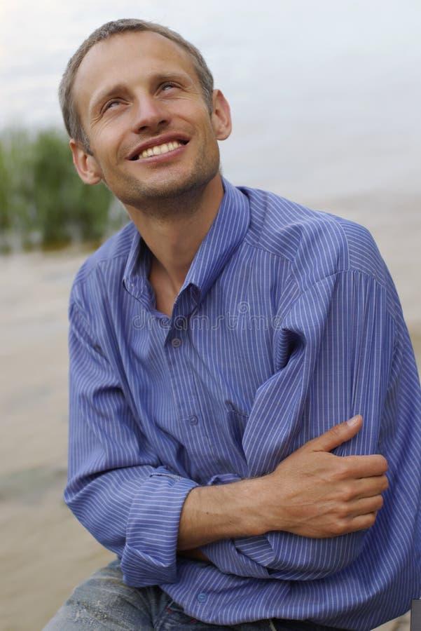 Homme optimiste photos stock
