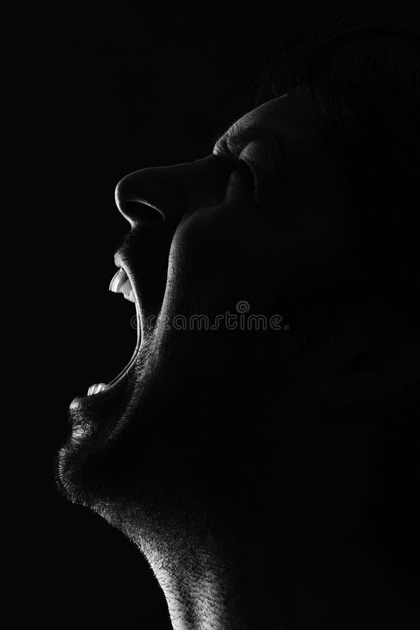 Homme pleurant  photos stock