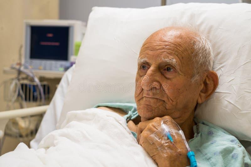 Homme plus âgé image stock