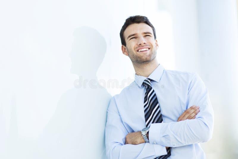 Homme réussi d'affaires image stock