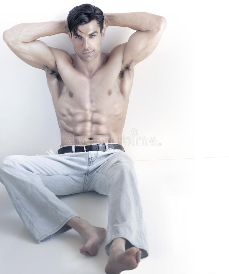 Homme sexy frais images stock