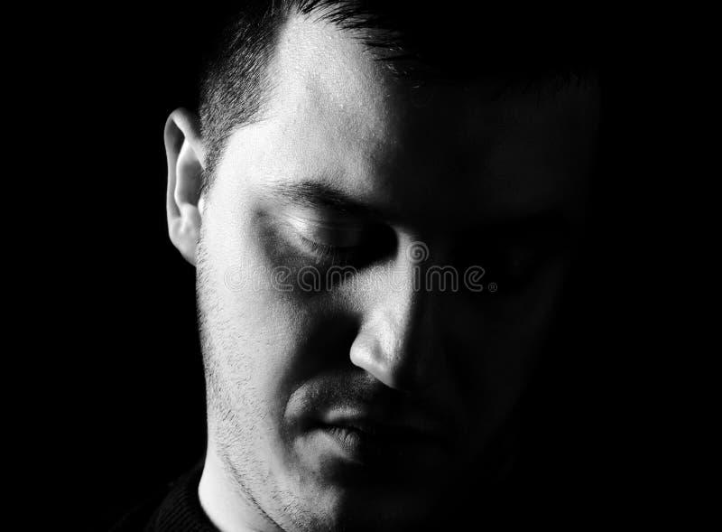 Homme sombre photos libres de droits