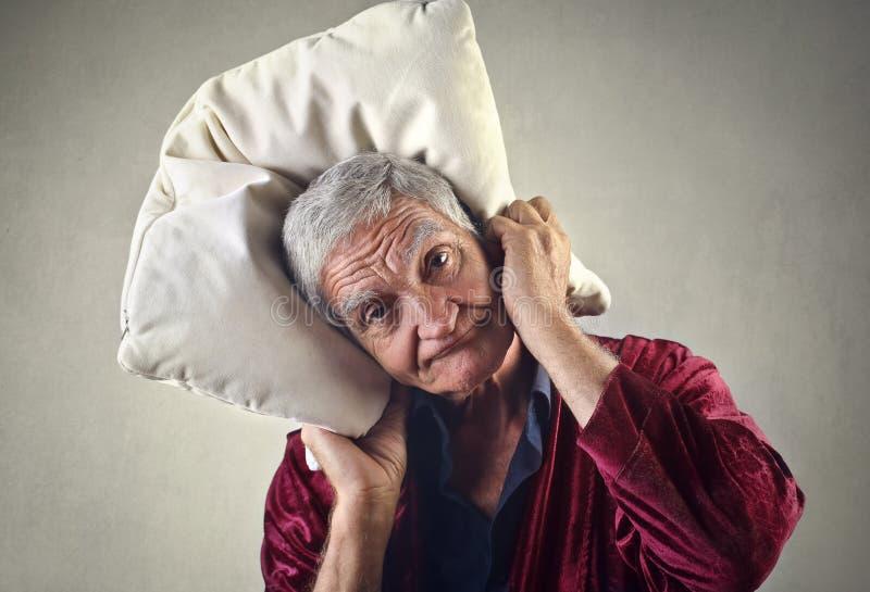 Homme somnolent photos libres de droits